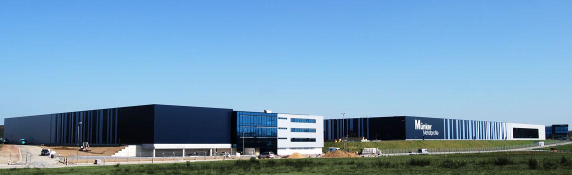 Münker Metallprofile GmbH Erweiterung Halle 3