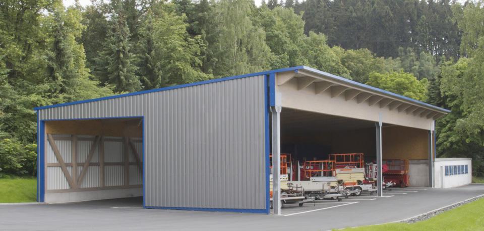 Maschinenhalle Referenz Münker