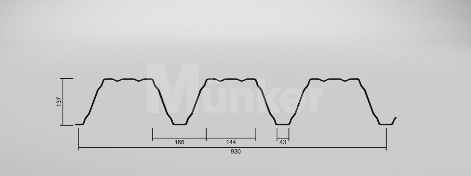 CAD Zeichnung M 135.1/310 positiv