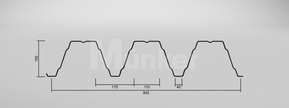 CAD Zeichnung M 150/280 positiv