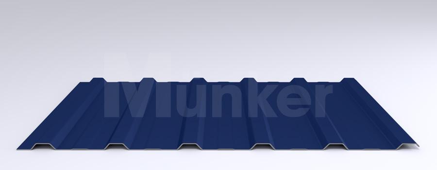 Trapezprofil M 20KD/210 MÜC 5010, Enzianblau, negativ