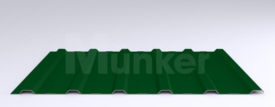Trapezprofil M 20KD/210 MÜC 6005, Moosgrün, negativ