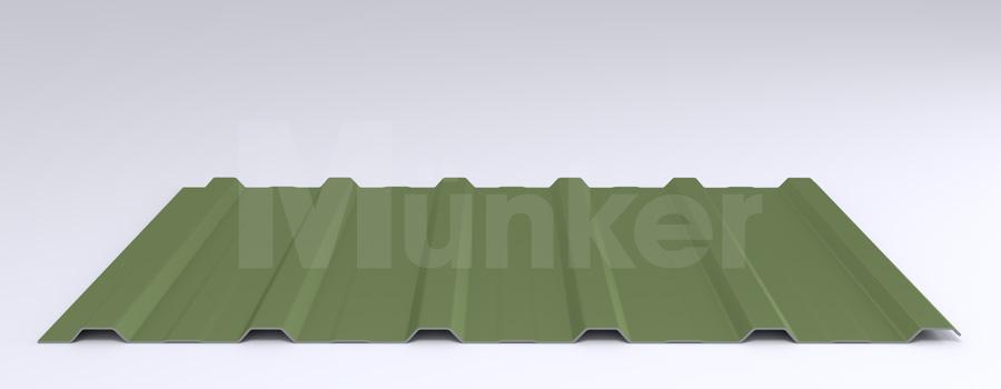 Trapezprofil M 20KD/210 MÜC 6011, Resedagrün, negativ
