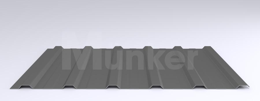 Trapezprofil M 20KD/210 MÜC 9007, Graualuminum, negativ