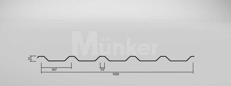 CAD Zeichnung M 35.1/207 negativ