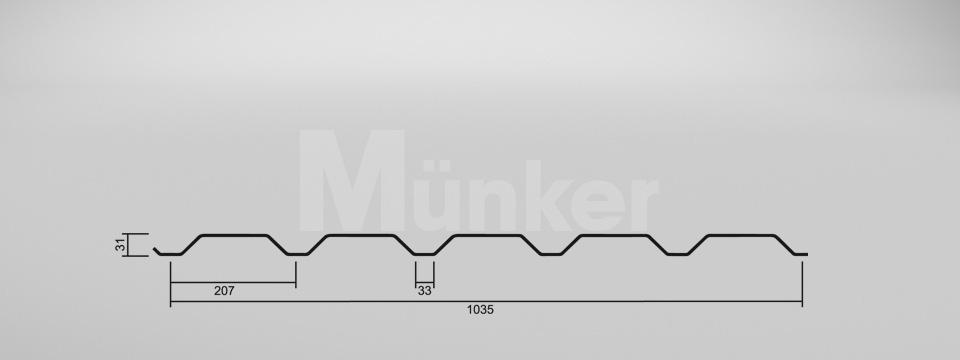CAD Zeichnung M 35.1/207 positiv