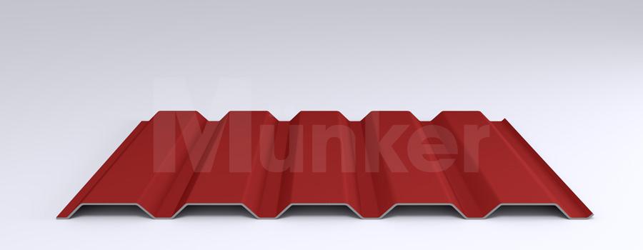Trapezprofil M 35.1/207 MÜC 3000, Feuerrot, positiv