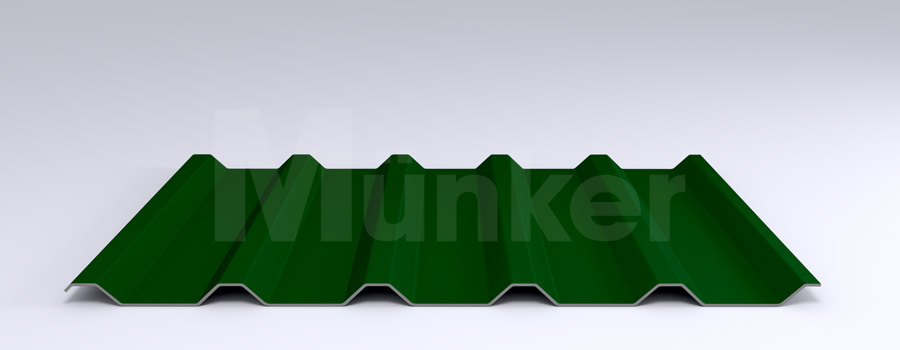 Trapezprofil M 35.1/207 MÜC 6005, Moosgrün