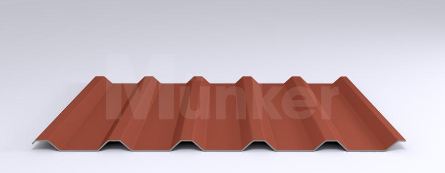 Trapezprofil M 35.1/207 MÜC 8004, Kupferbraun