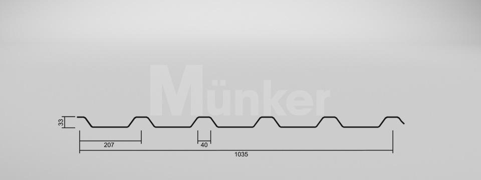 CAD Zeichnung M 35/207 negativ