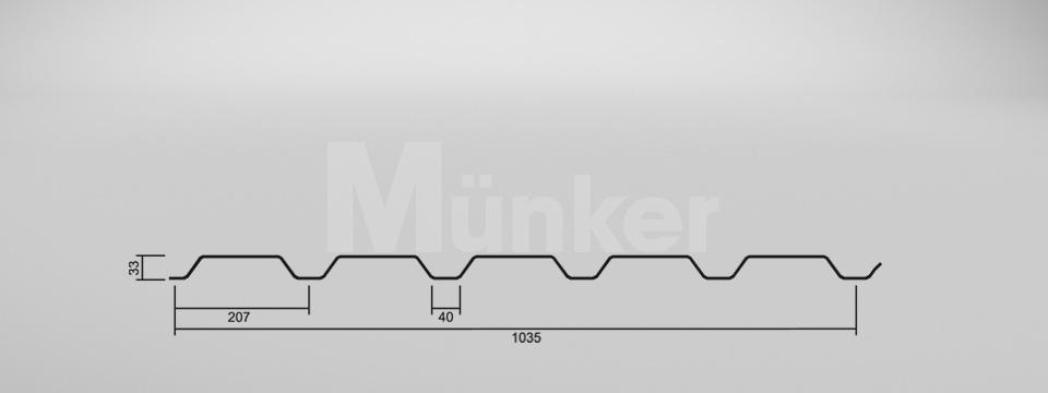 CAD Zeichnung M 35/207 positiv