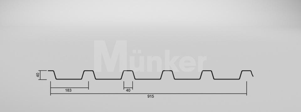 CAD-Zeichnung M 40/183 negativ