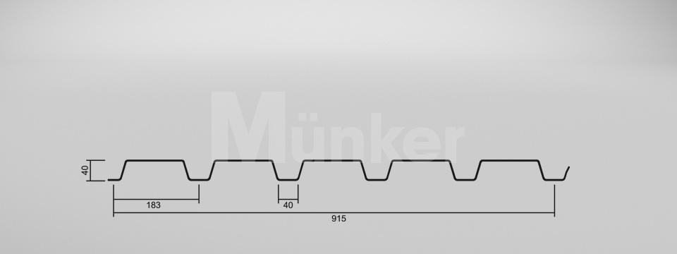 CAD-Zeichnung M 40/183 positiv