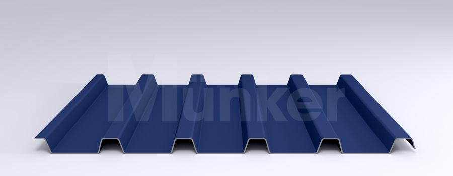 Trapezprofil M 40/183 MÜC 5010, Enzianblau, negativ