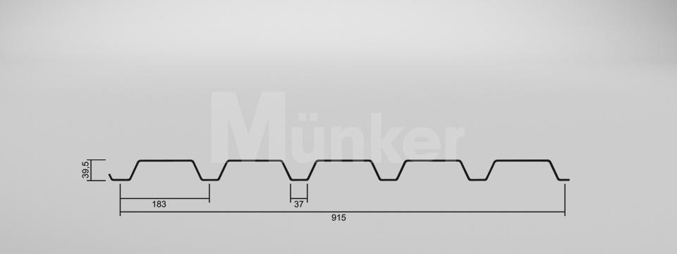 CAD Zeichnung M 40.1/183 positiv