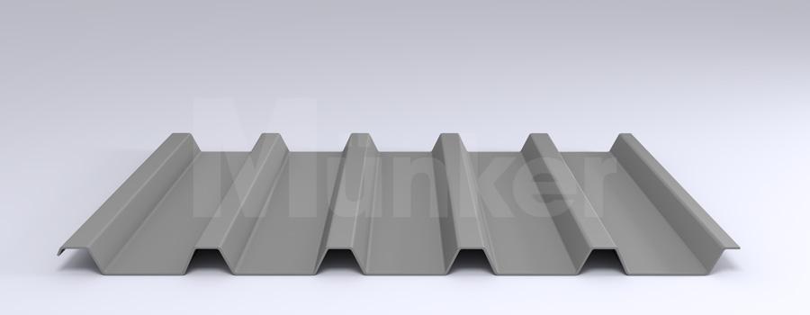 Trapezprofil M 40.1/183 MÜC 9006, Weißaluminium