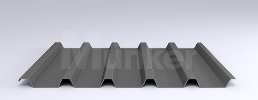Trapezprofil M 40.1/183 MÜC 9007, Graualuminium