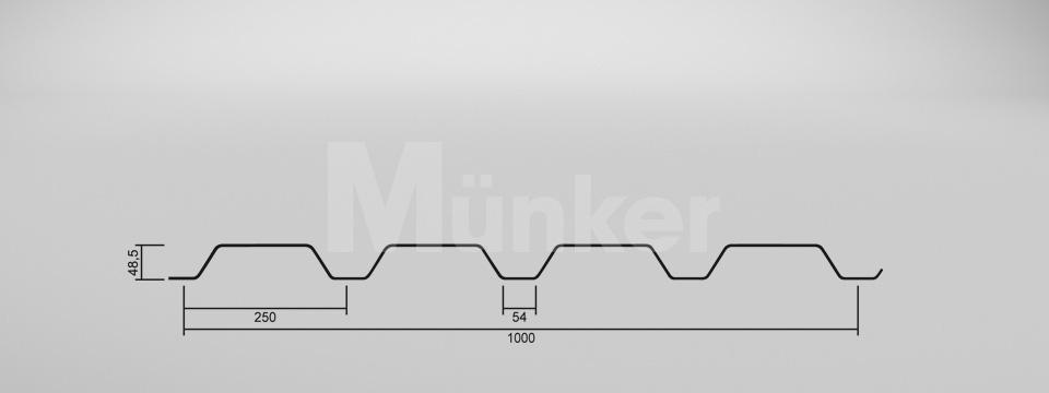 CAD Zeichnung M 50/250 positiv