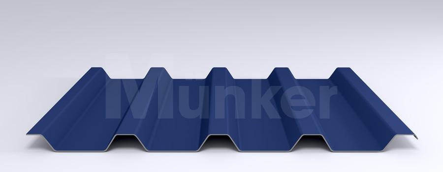 Trapezprofil M 50/250 MÜC 5010, Enzianblau, negativ