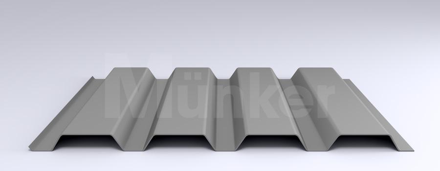 Trapezprofil M 50/250 MÜC 9007, Graualuminium, positiv